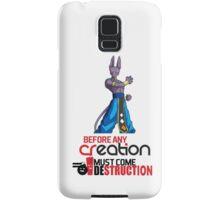 Beerus - The God of Destruction Samsung Galaxy Case/Skin