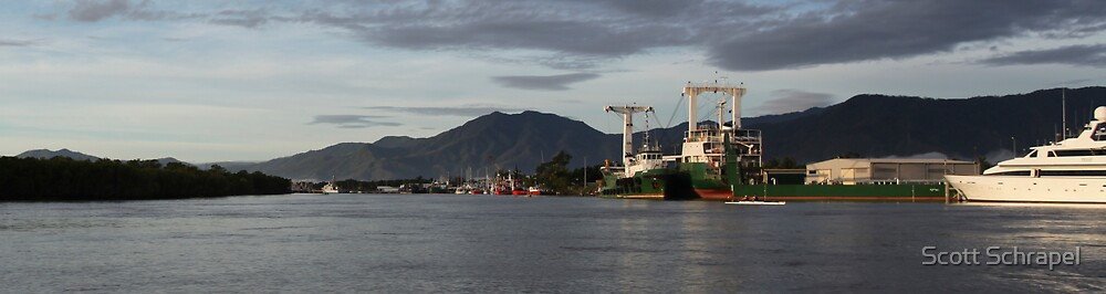 Cairns From trinity Inlet by Scott Schrapel