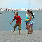 Just kids hanging at the beach ©  by Dawn Becker