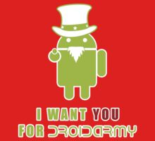 Droidarmy: Propaganda Baby Tee