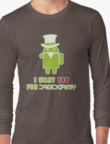 Droidarmy: Propaganda Long Sleeve T-Shirt