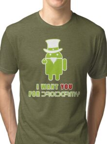 Droidarmy: Propaganda Tri-blend T-Shirt
