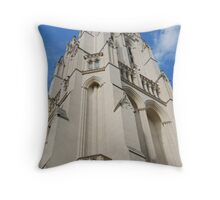 The National Cathedral, Washington, D.C. Throw Pillow