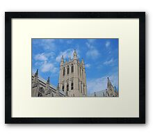 The National Cathedral, Washington, D.C. Framed Print