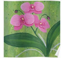 One Heart Orchids I Poster
