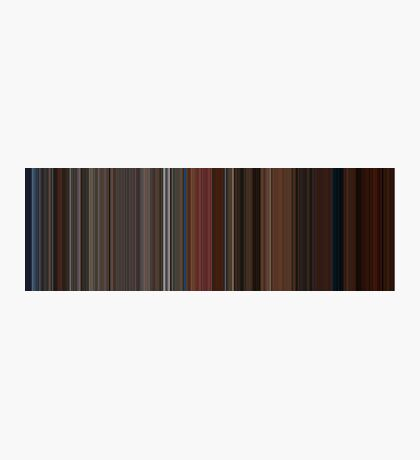 Moviebarcode: A Single Man (2009) [Simplified Colors] Photographic Print