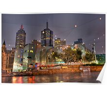 Federation Square Melbourne Poster