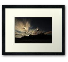 Point Ybel Lighthouse 2 Framed Print