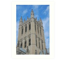 The National Cathedral, Washington, D.C. Art Print