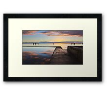 Tidal Pool, Edithburgh South Australia Framed Print
