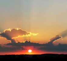 Mryniong's Setting Sun by nicolemckenna