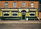 Waiting for the pub to open, UK,1980s by David A. L. Davies