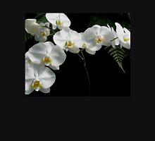 Phalaenopsis aphrodite (Moon Orchid) & Ferns Unisex T-Shirt