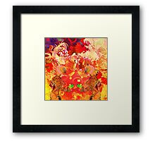 Abstract figure design 1 Framed Print