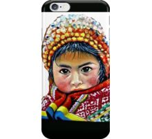 Indigenous little girl  iPhone Case/Skin