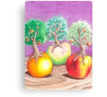 Flattery, Sneak and Meddle Canvas Print