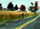 """Drive By"" - Scootering by Marcia Rubin"
