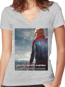 The Spider Women's Fitted V-Neck T-Shirt