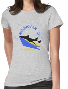 Antonov An-225 Womens Fitted T-Shirt