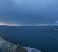 Storm Clouds over Montague Island by Anthony Mckinley