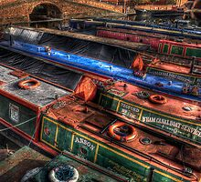 Working Canal Boats by timmburgess