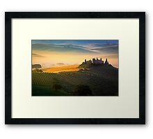 Val d'Orcia Framed Print