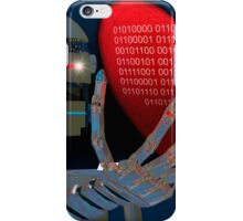 Be My Valentine Robot iPhone Case/Skin