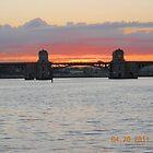 Hanover Street Bridge Sunset #116 by steeltrap