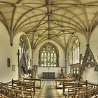 Lady Chapel, St David&#x27;s Cathedral, Wales by Bob Culshaw