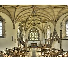 Lady Chapel, St David's Cathedral, Wales Photographic Print