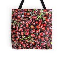 Red  Grape Duvet Tote Bag