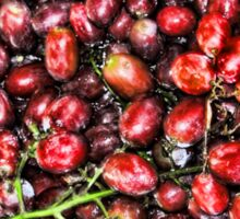 Red  Grape Duvet Sticker