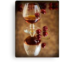 Cherry Brandy Canvas Print