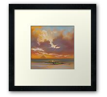 Pladda Lighthouse, Arran Framed Print
