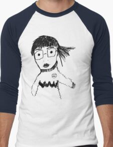 Libraries Rock, Okay?! Men's Baseball ¾ T-Shirt