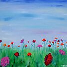 Carnations by Regina Valluzzi