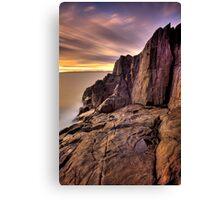 """Sunrise on the Rock"" Canvas Print"