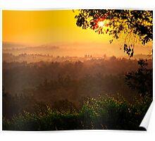 San Gimignano Hills #2 Poster