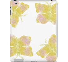 Golden Butterfly iPad Case/Skin
