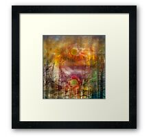 Scorch of Summer's Love Framed Print