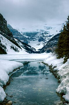 Lake Louise by Réjean Brandt
