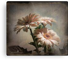 Dramatic floral Metal Print