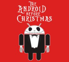 The Android Before Christmas (Small Version/Dark Colors) by soulthrow