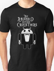 The Android Before Christmas  Unisex T-Shirt
