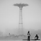 Coney Island Parachute Jump by Kelly Barbieri