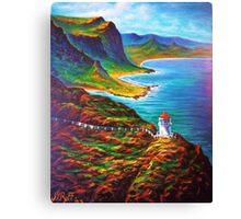 Makapuu Point Lighthouse Canvas Print