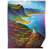 Makapuu Point Lighthouse Poster
