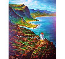 Makapuu Point Lighthouse Photographic Print
