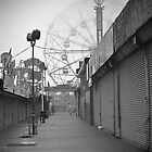 Coney's Wonder Wheel  by Kelly Barbieri