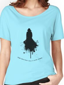 Severus Snape - The Bravest \  Black-White concept Women's Relaxed Fit T-Shirt